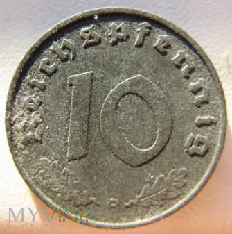 Duże zdjęcie 10 reichspfennig 1941 Niemcy (Trzecia Rzesza)