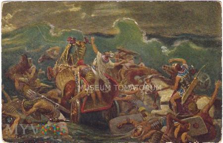Morze Czerwone zalewa Egipcjan