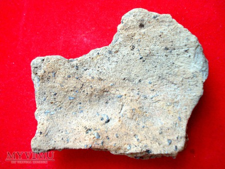 Fragmenty glinianego naczynia