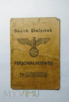 Identyfikator osobisty Białystok