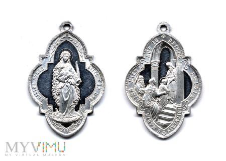 Medalik Kongregacji Mariańskiej Dziewcząt