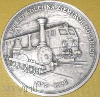 Medal rocznicowy 150 lat kolei polskich i DŻWW