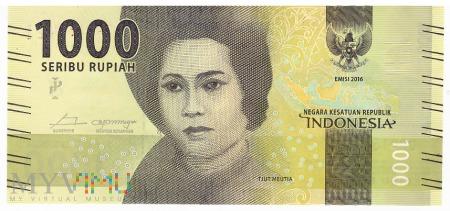 Indonezja - 1 000 rupii (2017)