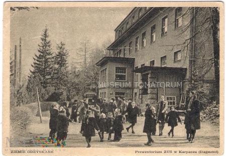 Karkonosze - Karpacz - Sanatorium - lata 50-te