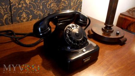 Bakelitowy telefon Siemens W38