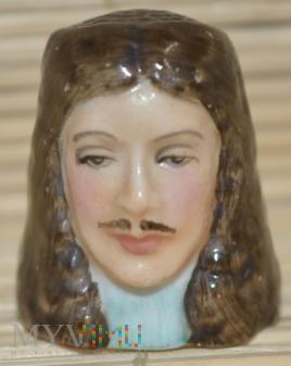 Duże zdjęcie Naparstek -głowa/Charles II