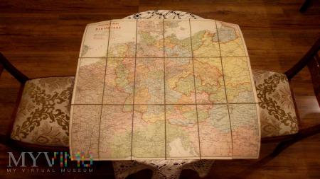 Mapa NSDAP Ravenstein Karte - Deutschland