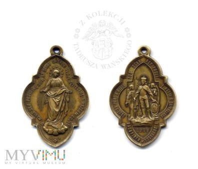 Medalik zgromadzenia maryjnego w Dobruszce - Czech