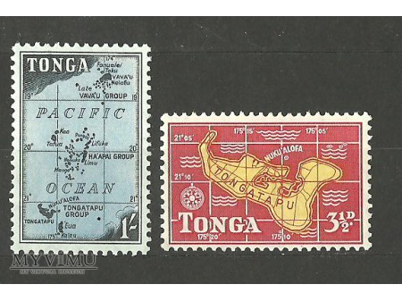 Mapy Tonga
