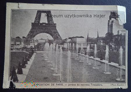 Francja - Paris - jardins du nouveau Trocadero