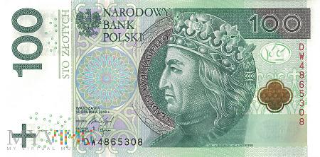 Polska - 100 złotych (2018)