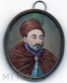 Duże zdjęcie miniatura portretowa Stefan Batory