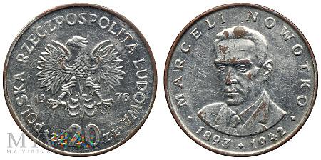 20 złotych, 1976, fałszerstwo (IV)
