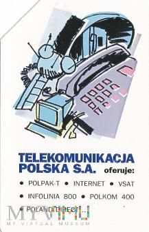 Karta telefoniczna - Telekomunikacja Polska S.A.