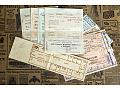 Stare Bilety PKP