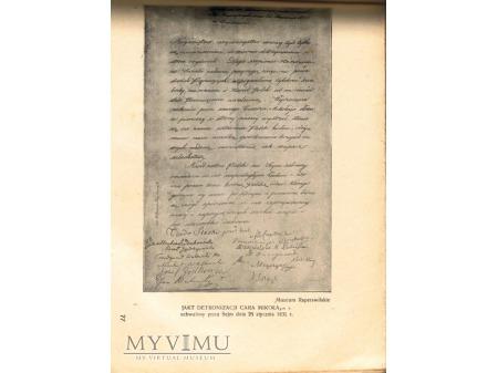 SETNA ROCZNICA POWSTANIA LISTOPADOWEGO 1830-1930