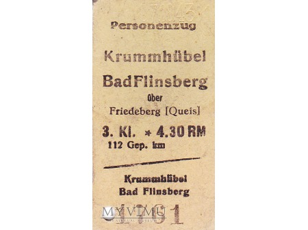 Duże zdjęcie Bilet Krummhubel - Bad Flinsberg