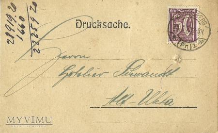 Auguste Wunderlich Konigsberg 1922 r.