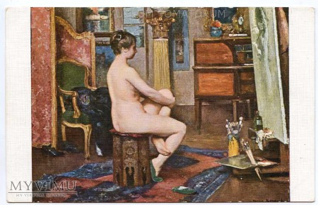 Bompard - Odpoczynek modelki - Atelier