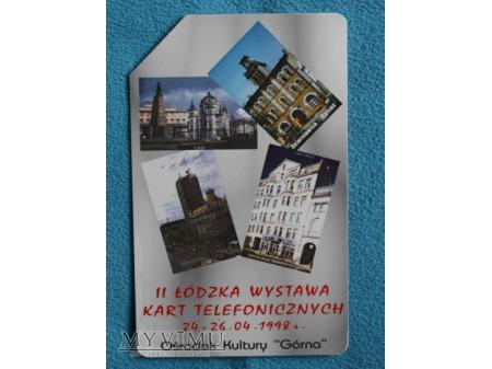 Druga Łudzka wystawa kart telefonicznych 1998