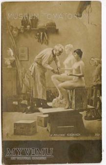 Gerome - W pracowni rzeźbiarza - Atelier