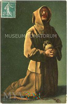 Zurbaran - Monk zakonnik - modlitwa