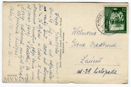 1941 Wielkanoc Okupacja Generalne Gubernatorstwo
