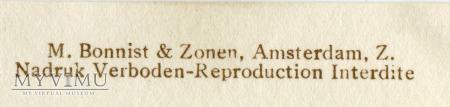 M. Bonnist & Zonen Amsterdam Holandia