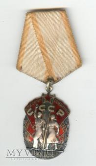 Znak Honoru z legitymacją