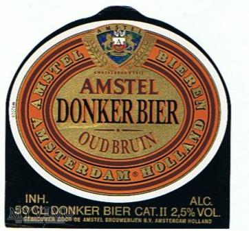 amstel donker bier