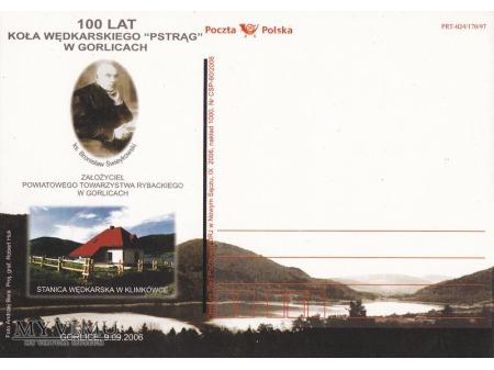 100 lat koła wędkarskiego Pstrąg w Gorlicach