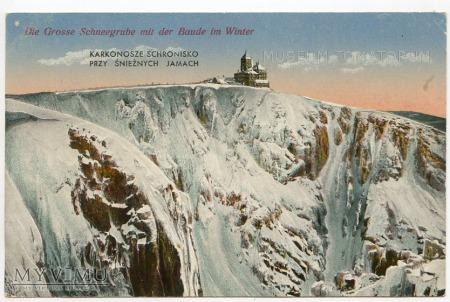 Karkonosze Śnieżne Kotły Schneegrubenbaude ok.1935
