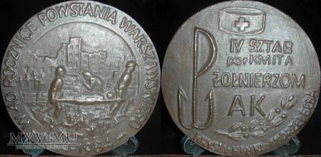 113. 40 rocznica Powstania Warszawskiego