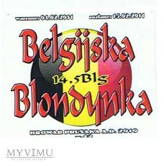 belgijska blondynka