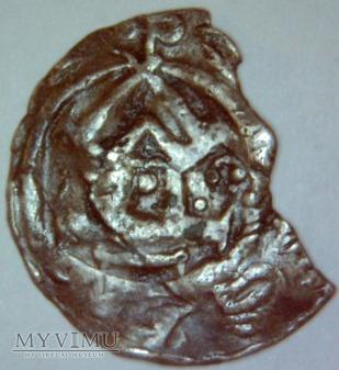 Denar Krzyżowy XI wiek Otto-III i Adelajda (?)