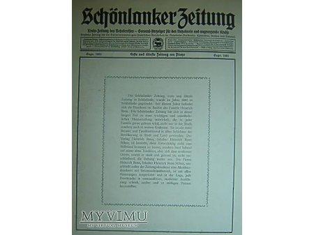 Przewodnik o Trzciance z 1930r.Reklama#12.