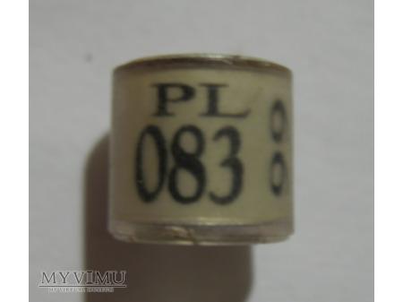 OBRĄCZKA 083 - Gorzów Wielkopolski (1999)