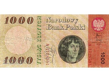 1000 Złotych 20.10,1965 r.