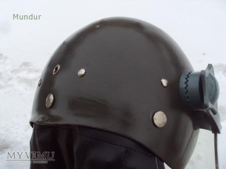 Kask motocyklowy z ochroną twarzy wz.83 khaki