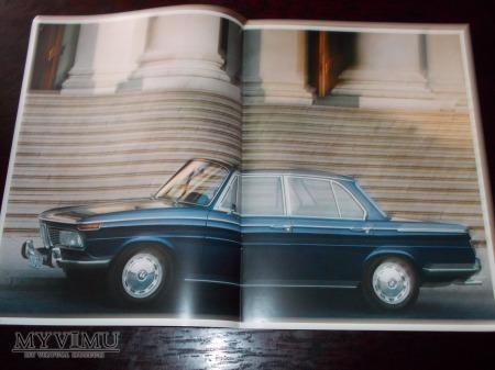 Prospekt BMW 1800/2000/2000tii