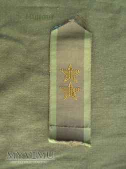 Szwecja - polowe oznaki stopnia: porucznik