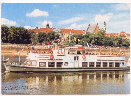 W-wa - Wisła - statek - 1990 ok.