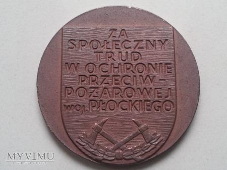 Duże zdjęcie Za Społeczny Trud w Ochronie Ppoż woj.płockiego