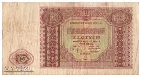 Polska - 10 złotych (1946)