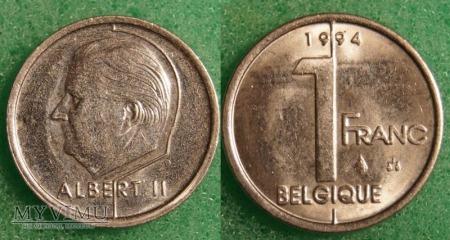 Belgia, 1 Franc 1994