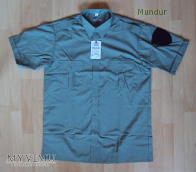 Koszula miętowa SC z krótkimi rękawami