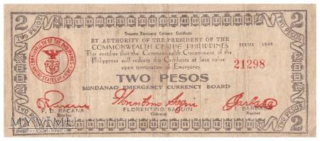 Filipiny - 2 pesos (1944)