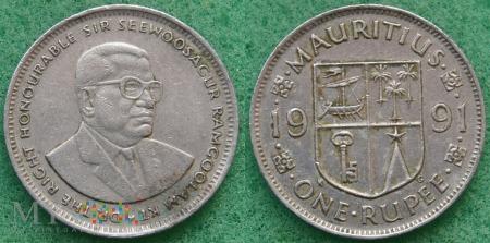 Mauritius, 1 Rupia
