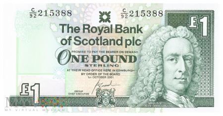 Szkocja - 1 funt (2001)