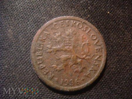 10 halerzy 1936 Czechosłowacja